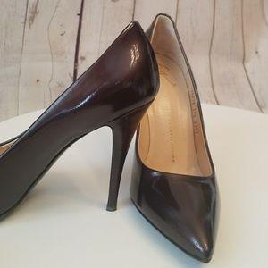Giuseppe Zanotto Vero Cuoio Sexy Black Stilettos